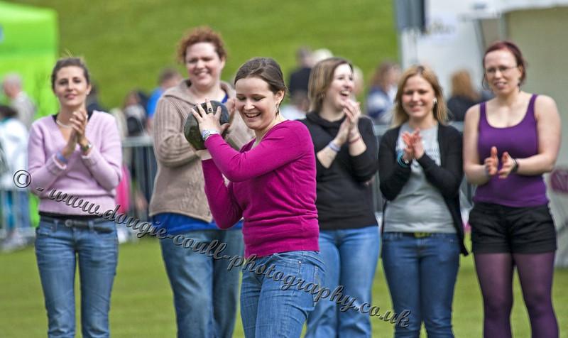 Ladies Stone Throwing - International Entrants
