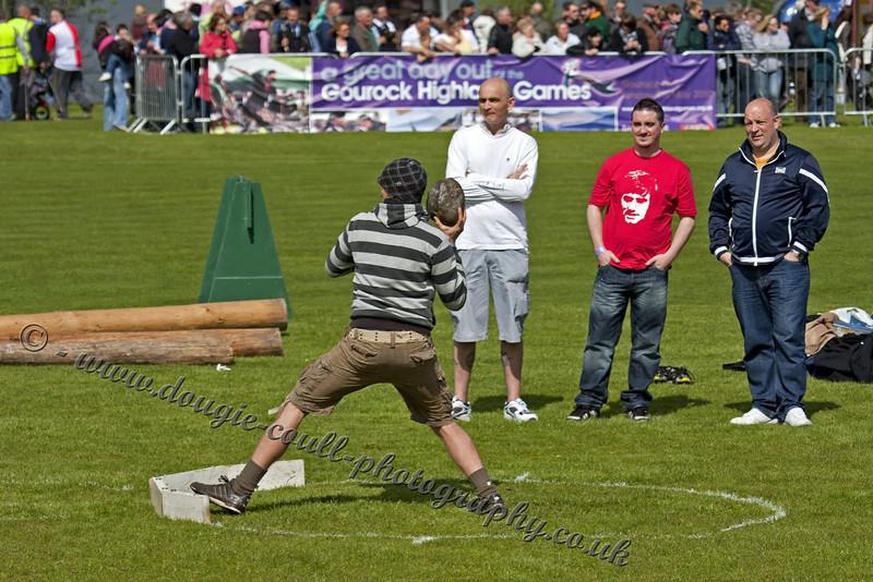 Men's Stone Throwing - International Entrants
