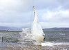 Yacht Peggy caught Storm Ciara in Gourock - 9 February 2020