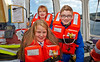 Shaun and Emma Aboard the 'Anglegarth' at the 'First Beam of Light Celebration' - 31 August 2013