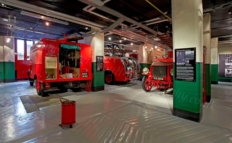 Entrance Hall - Strathclyde Fire & Rescue Museum - 7 July 2012