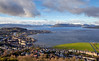 View from Lyle Hill - 14 January 2013
