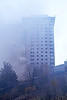 High Rise Fire - Melrose Court, Greenock - 4 November 2012