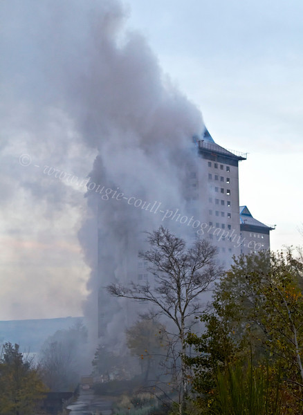 High Rise Fire - Belville Street, Greenock - 4 November 2012