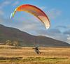 Paragliders at Cornalees, Greenock - 30 October 2018