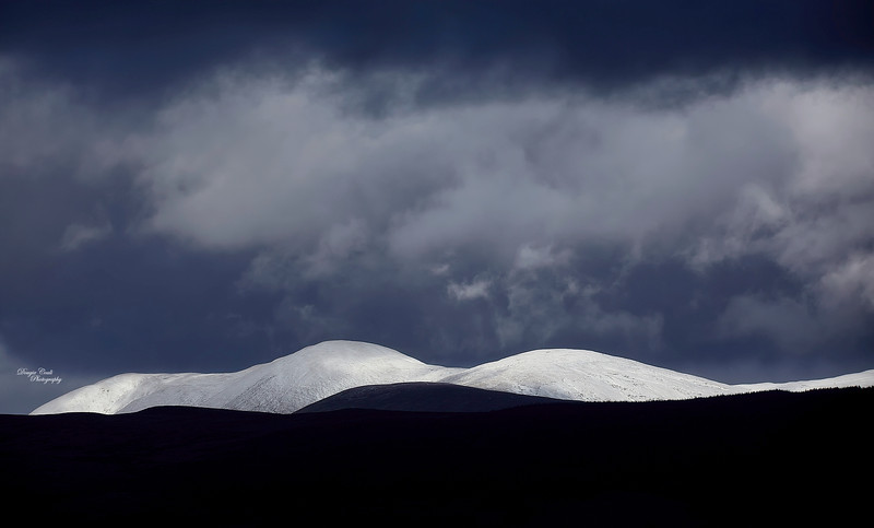 Snowy Hills from Greenock - 18 February 2020