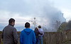 High Rise Fire Onlookers - Belville Street, Greenock - 4 November 2012