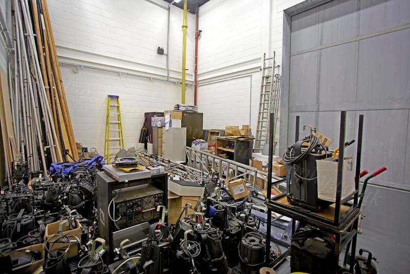 Beacon Arts Centre - Backstage - 5 January 2013