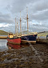Exhibits in Inverary Harbour