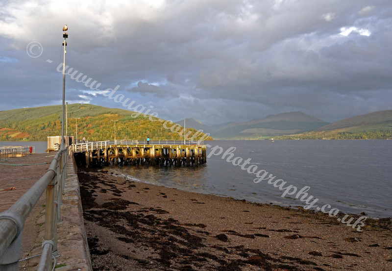 View down Inverary Pier