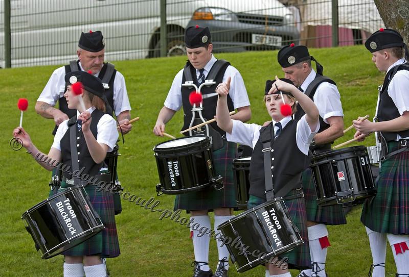 Troon Blackrock Pipe Band