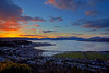 Sunset - From Lyle Hill - 13 March 2013