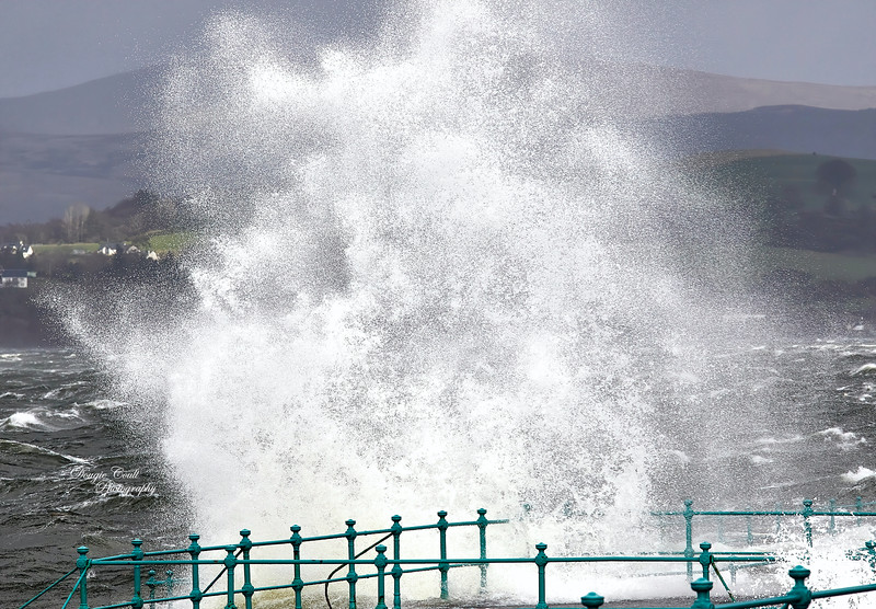Storm Ciara in Gourock - 9 February 2020