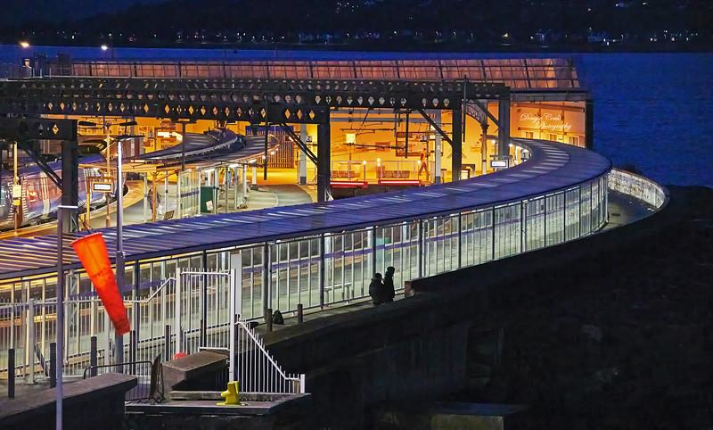 Linkspan Project at Gourock Pier - 2 November 2020