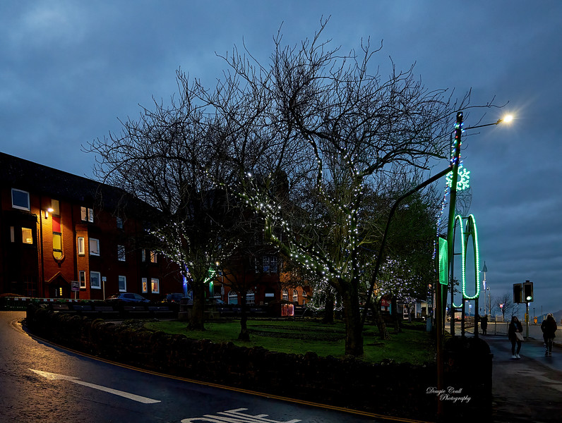 Christmas Lights in Gourock - 6 December 2020