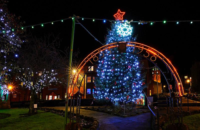 Christmas Lights in Gourock - 26 December 2017