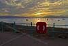 Sunset at Ashton, Gourock