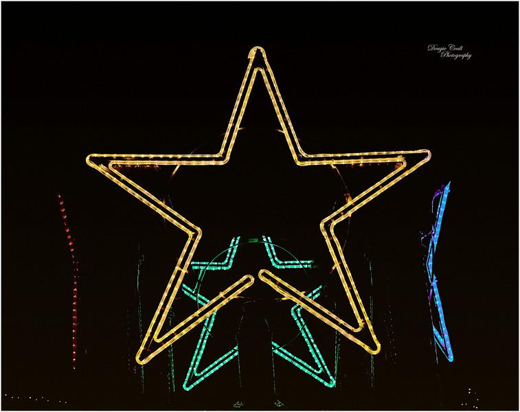Christmas Lights in Gourock - 6 December 2020