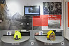 Scottish Fire and Rescue Service Heritage Trust Mobile Museum at East India Harbour, Greenock - 28 July 2018