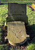 Inverkip Street Cemetery - Greenock - Broken Stone