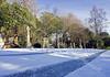 Snowy Cemetery