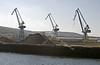 Sleeping Cranes at Inchgreen Dock, Greenock