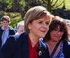 Nicola Sturgeon at Clyde Square, Greenock - 4 May 2015