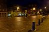 Cathcart Square at Night in Greenock - 26 December 2013