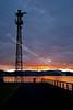 Greenock Sunset from James Watt Dock