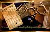 Custom House Museum - Greenock - Display Cabinet - Handcuffs & Knuckleduster
