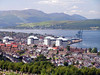 View over Greenock