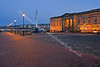 Custom House Quay in the Evening