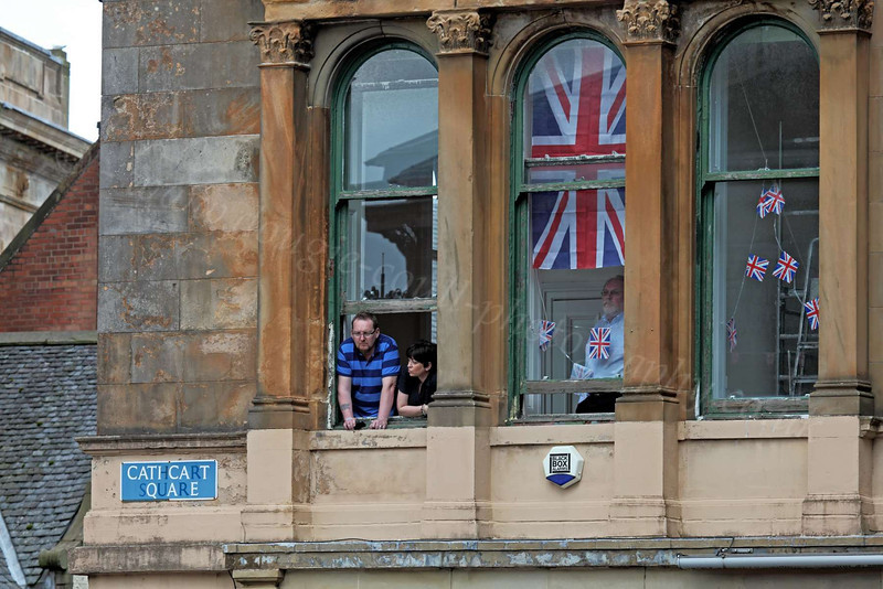 Room With a View - Queen's  Inverclyde Visit - Cathcart Square - 4 July 2012