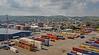 Greenock Ocean Terminal from the 'MS Eurodam' at Greenock - 1 July 2015