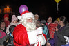Santa Hands Out Sweeties - Christmas Lights Switch On - Cathcart Square - 1 December 2011