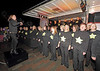 'Rock Choir' Perform at the Christmas Lights Switch On - Cathcart Square - 1 December 2011
