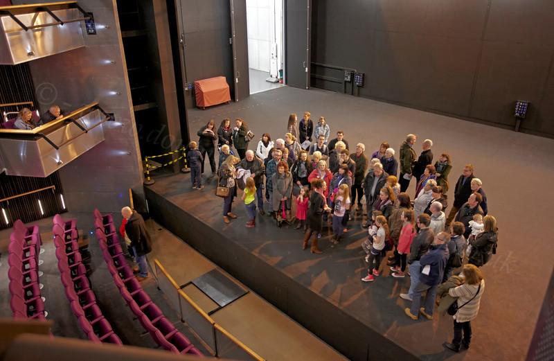 Beacon Arts Centre - Backstage Tour - 5 January 2013