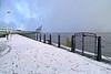 Snow at {Custom House Quay - {day} January 2015