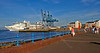 Cruise Ship - 'Sea Princess' - Off Greenock Esplanade - 9 July 2013