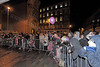 Crowd Watches on - Christmas Lights Switch On - Cathcart Square - 1 December 2011