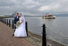 Wedding at Custom House Quay as PS Waverley Passes - 22 June 2012