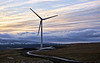 Windfarm in Greenock - 6 January 2021