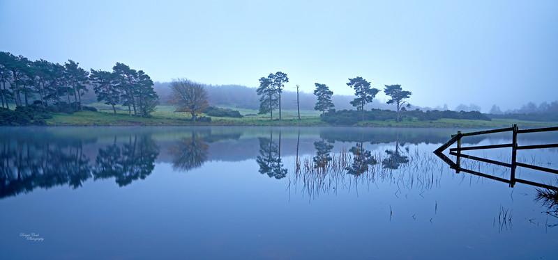 Knapps Loch near Kilmacolm - 7 November 2020
