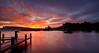 Knapps Loch at Sunrise - Near Kilmacolm - 16 October 2013