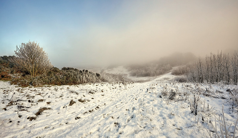 Knock Mountain near Kilmacolm - 31 January 2019