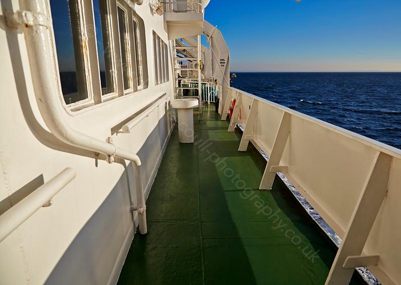 Aboard the 'Caledonian Isles' - 18 November 2014
