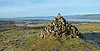Cairn at Knockmountain, Kilmacolm - 7 January 2018