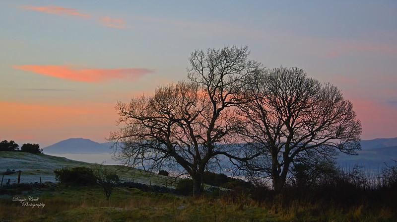 Twilight from Langbank - 31 December 2019