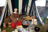 Cooking in the Viking Village - Largs Front - 8 September 2012