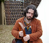 Musician at the Viking Village - Largs Front - 8 September 2012